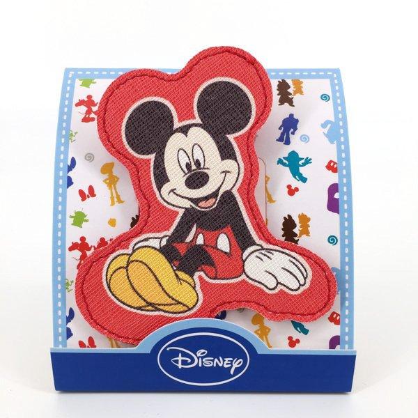 迪士尼米奇皮革捲線器吊飾迪士尼 生日 聖誕 可愛收納 女生衣著