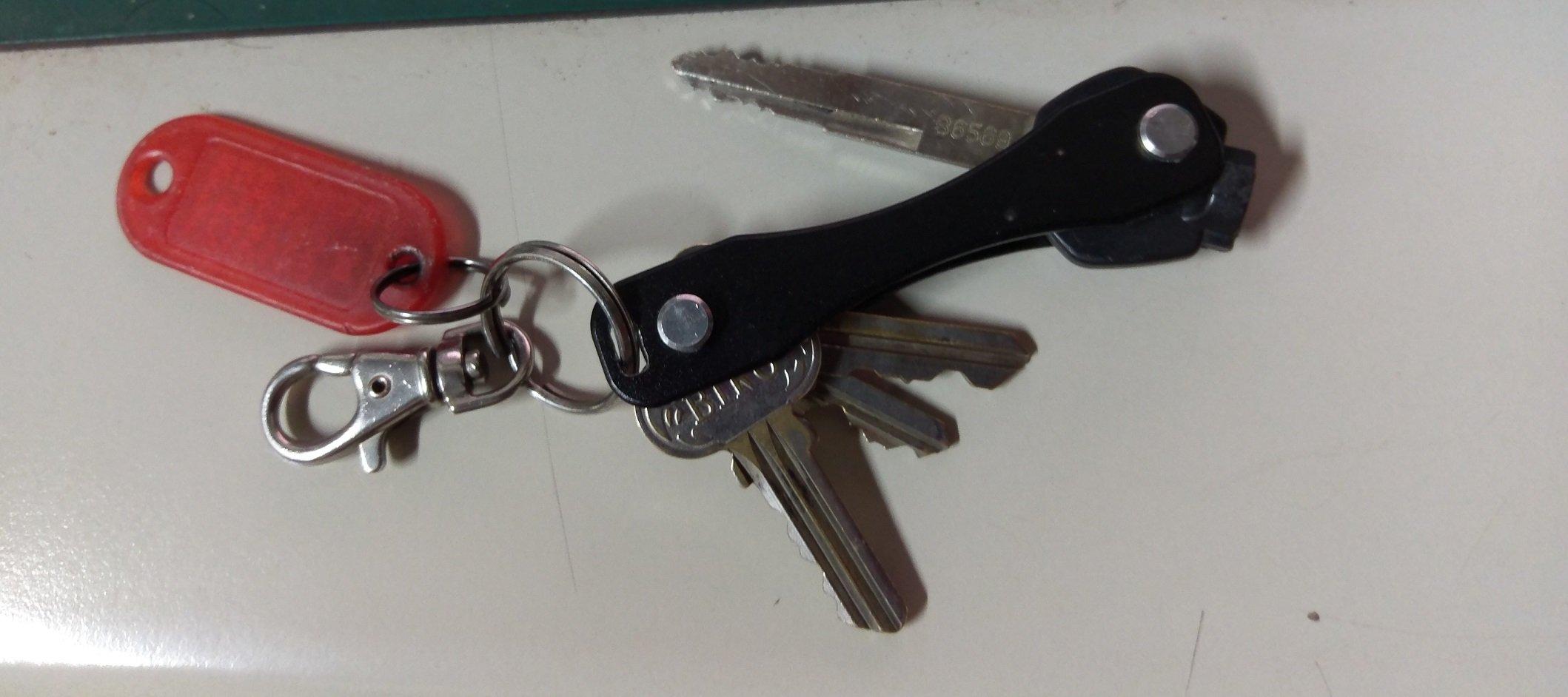 家用 鑰匙折疊式收納一體式