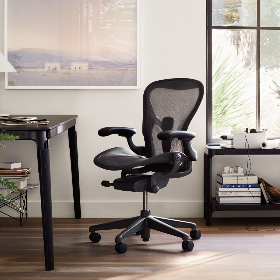 美國原裝正品 全功能DW扶手高配版 Herman Miller 2.0 Aeron 人體工學 辦公電腦椅 embody