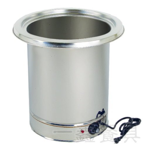 一鑫餐具【插電溫控仙草外桶 大 110V】溫控魯桶隔水加熱魯桶保溫鍋燒仙草桶不銹鋼魯桶