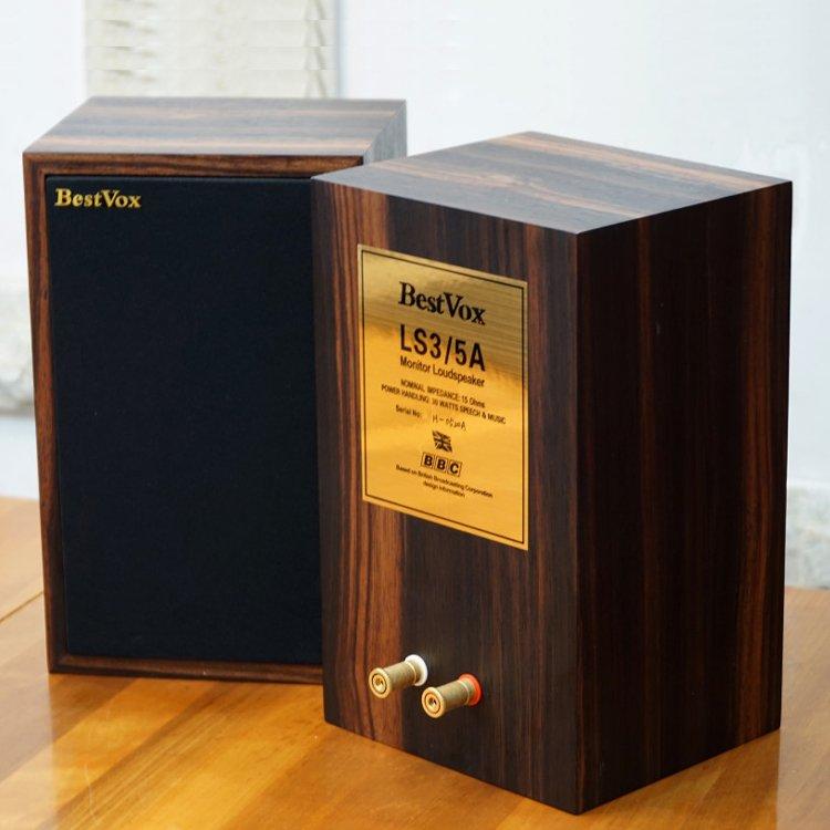 代購 BestVox 本色 LS3/5A 發燒 HiFi 書架音箱 ls35a BBC 傳奇經典 平輸 含運費 到手價格