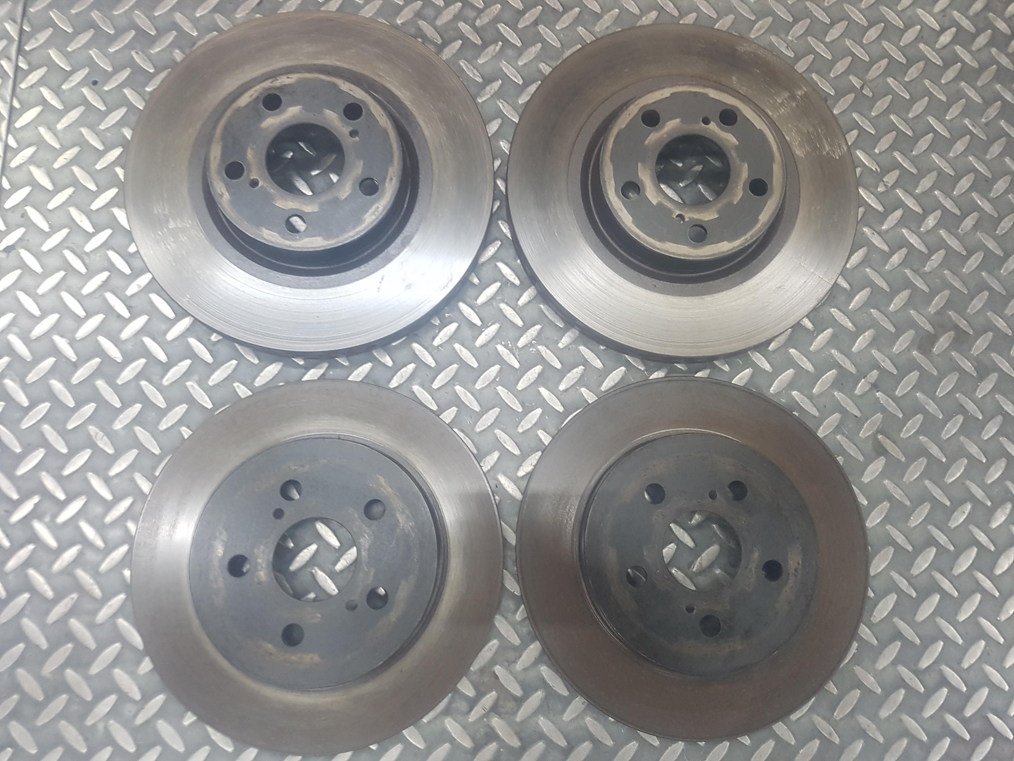 豐田  07-18 TOYOT ALTIS 阿提斯 原廠前煞車盤+原廠後煞車盤 原廠煞車盤 原廠前後煞車盤 煞車碟盤