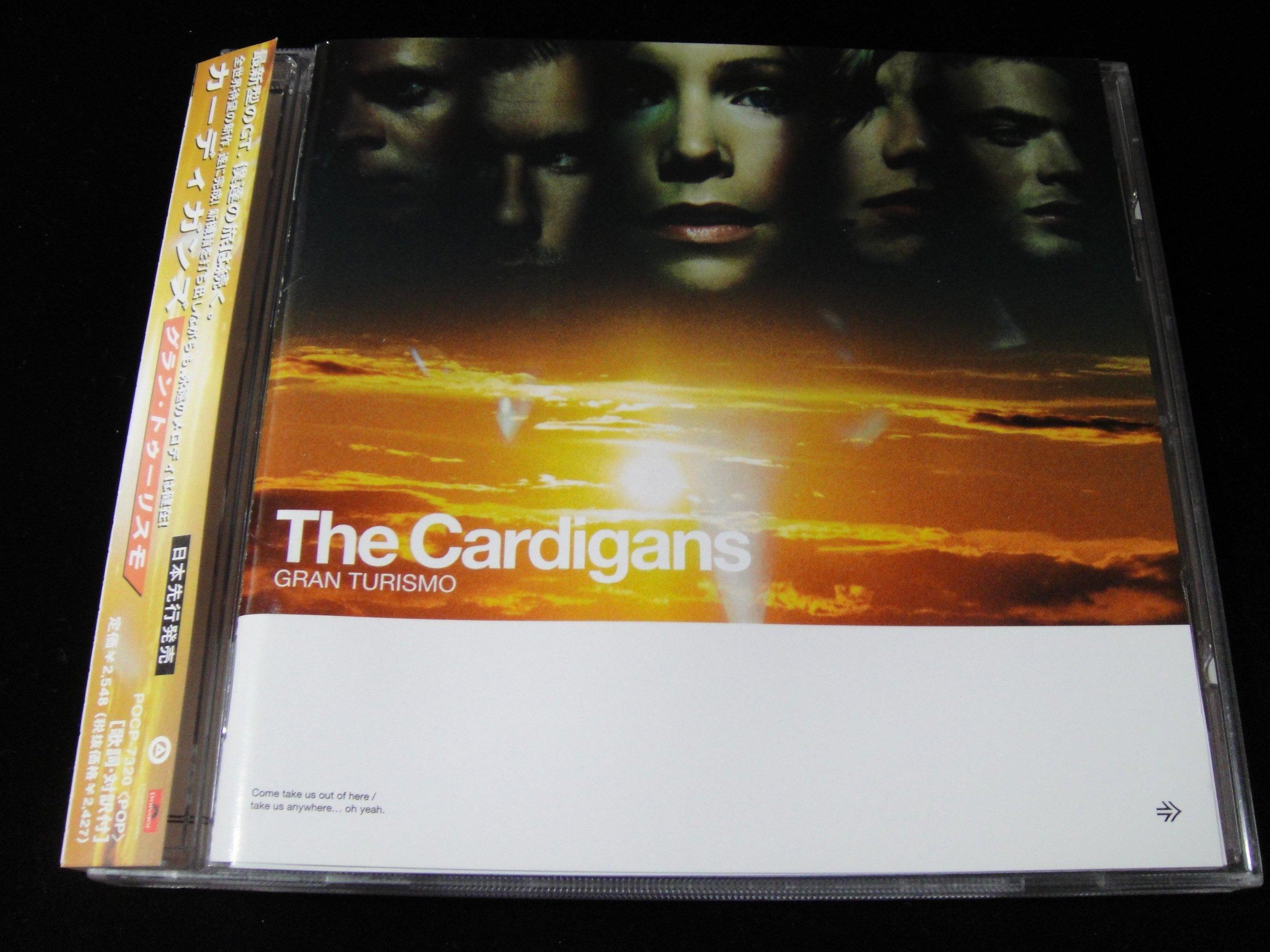 【198樂坊】The Cardigans - Gran Turismo(Paralyzed..韓版)CN