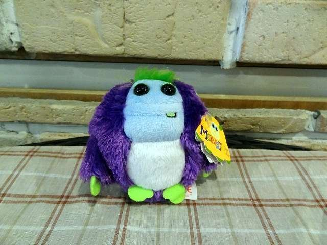 Bunny House~Monstas吊飾-紫11-A083( 怪獸吊飾.包包掛飾.鑰匙圈.雙色毛毛.娃娃吊飾)