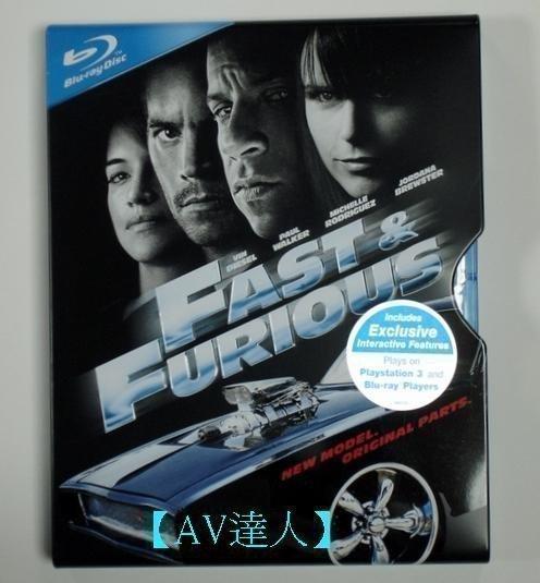 【BD藍光】玩命關頭 4:專屬限量鐵盒版The Fast and the Furious 4(台灣繁中)-新視聽推薦軟體