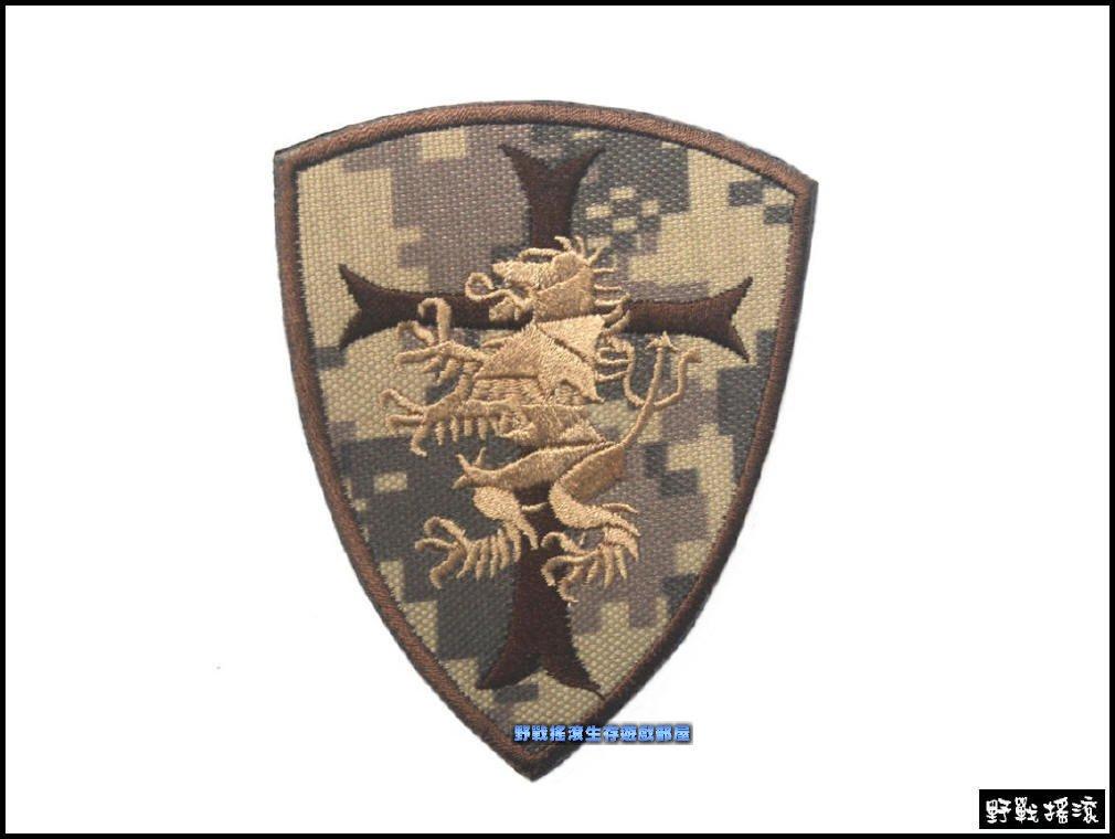 【野戰搖滾-生存遊戲】美國海豹部隊海豹六隊刺繡臂章【ACU迷彩】數位迷彩海豹部隊肩章、識別章