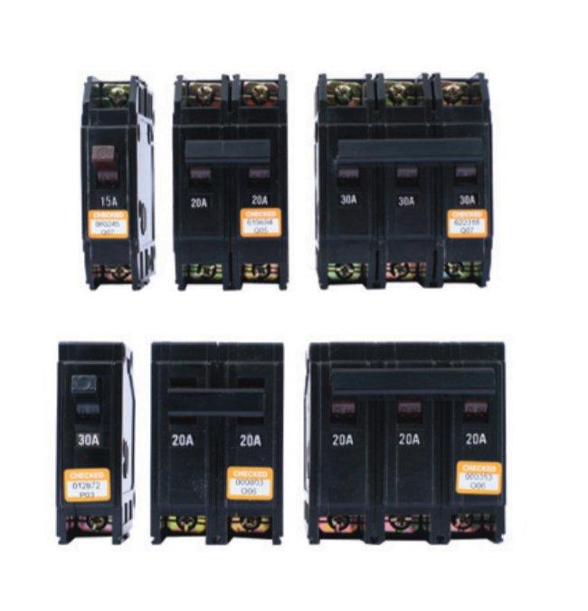 (永展) 東元 (台安) 無熔絲開關 Q系列 QLS 1P 20A  5K 卡式 / 插入型 BH