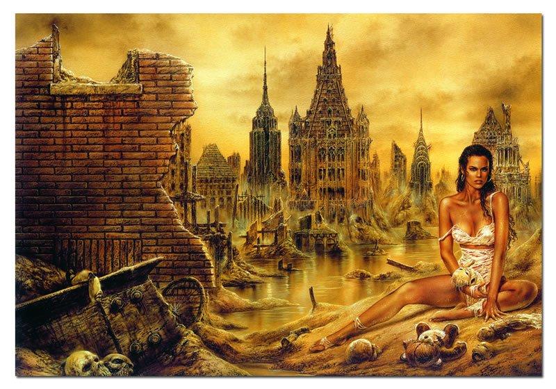 協泰 拼圖- EDUCA 13928 城堡 戰士 戰爭 中世紀 哥德風格 Luis Royo 1000片