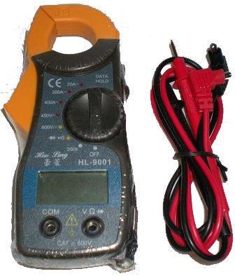 [捷克科技] HL-9001 迷你型交流鉤錶 導通蜂鳴 讀值鎖定 儀錶電錶