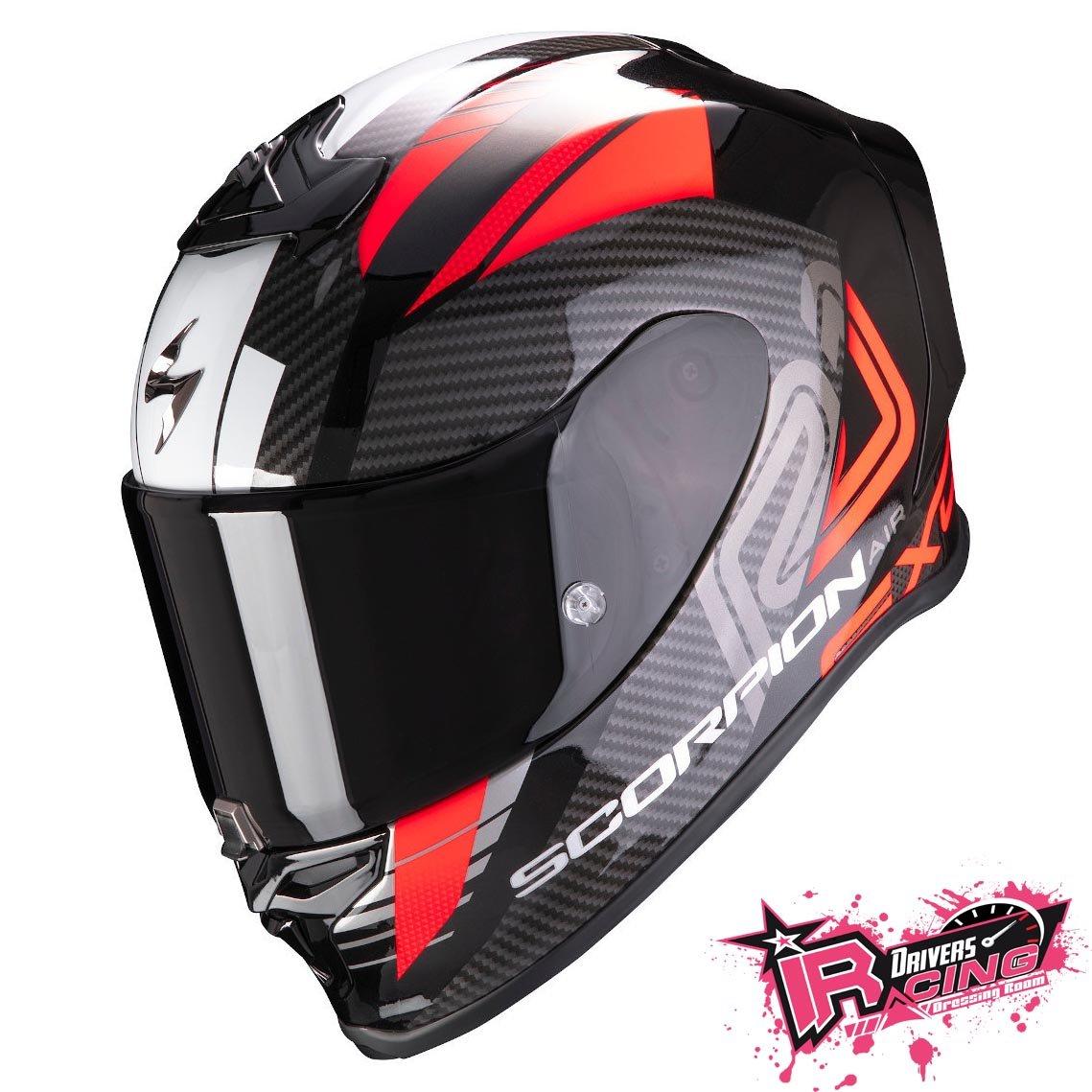 ♚賽車手的試衣間♚ Scorpion® EXO R1 Air Halley B/R 頂級 最新 安全帽