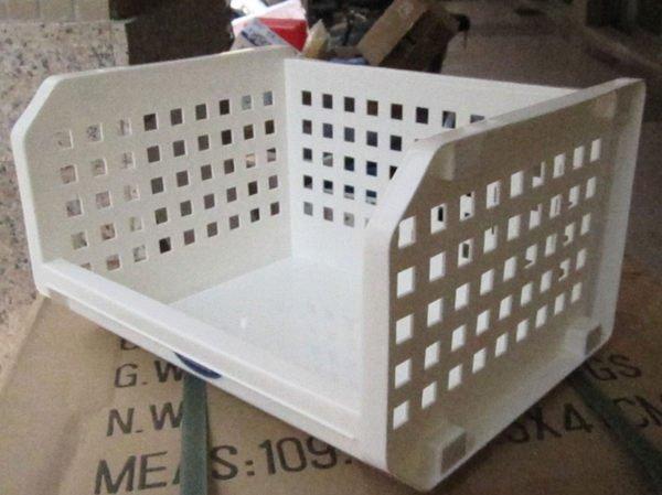 ☆優達 ☆開放式整理架 P50079 置物籃 收納籃 整理籃 整理箱 收納架 置物架 重疊架 12L 72入8500元
