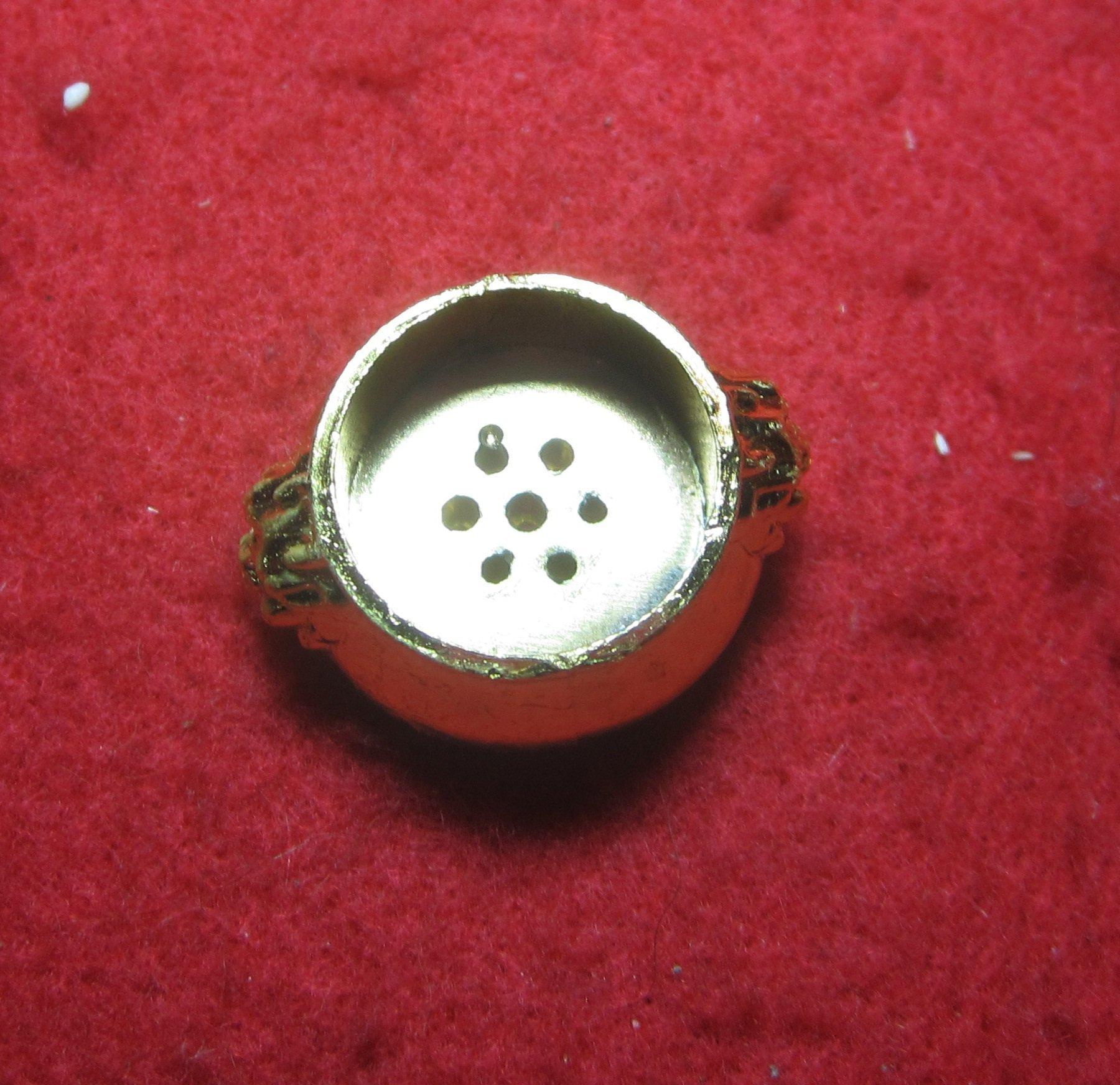 金屬兩用香插 香爐 线香 香塔 (獅耳爐)拇指爐