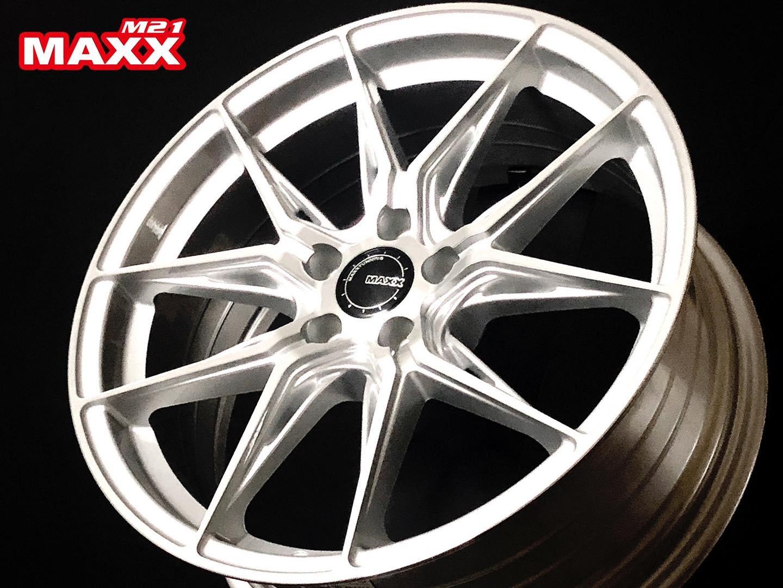 超鑫鋁圈 MAXX M21 M-21 16吋旋壓鋁圈 高亮銀 4孔100 5孔100 5孔108 5孔114.3 輕量化