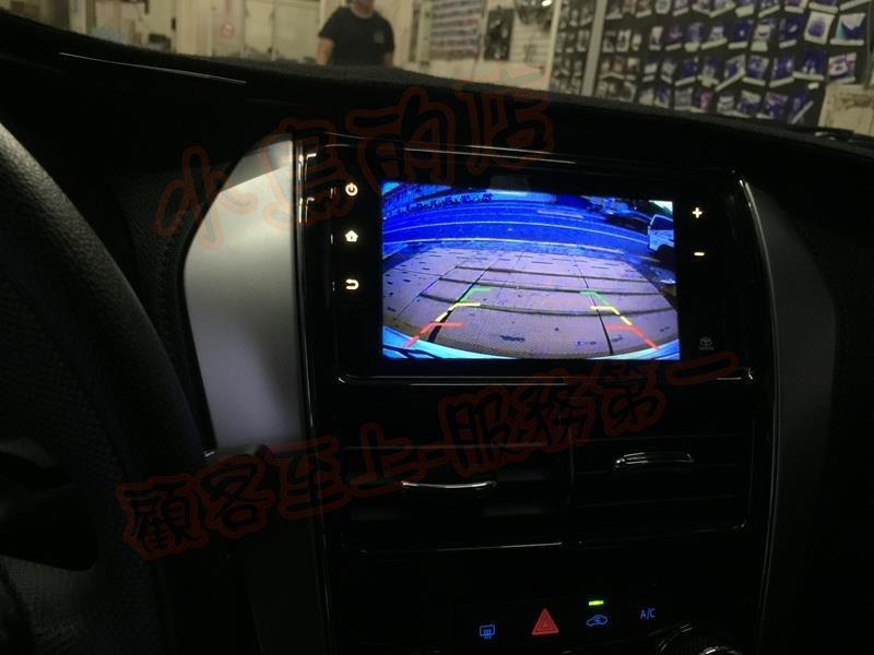 (小鳥的店)豐田 2019 YARIS VIOS 專用 倒車顯影 沿用原廠影音主機 專用線組