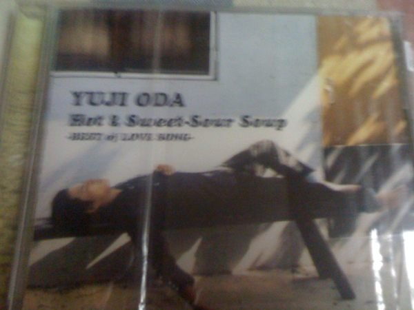 織田裕二 Yuji Oda - hot and Sweet Sour Soup  日本版CD