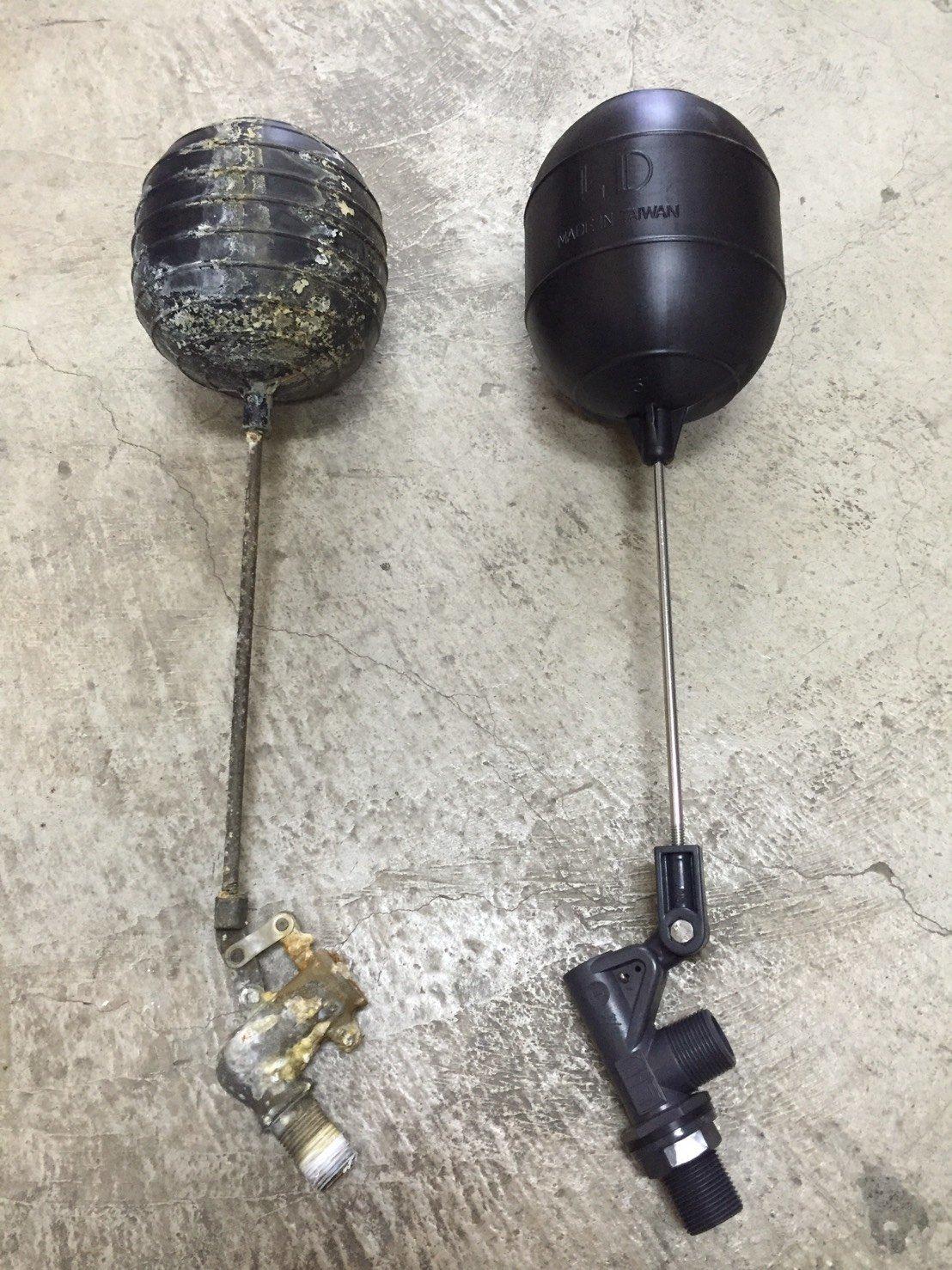 全PVC水塔進水器 浮球開關組 1管徑