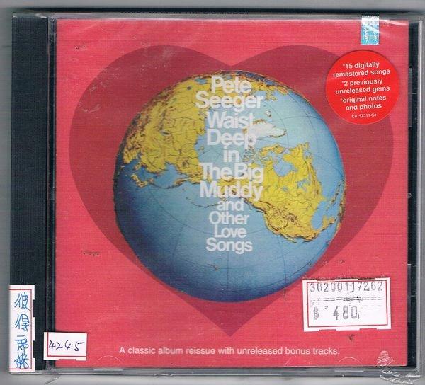 [鑫隆音樂]西洋CD-彼得席格PETE SEEGER:WAIST DEEP IN THE BIG MUDDY  (全新)