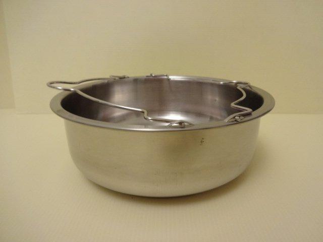 不鏽鋼多用途蒸盤(深型)21CM附把手(常缺貨請先 )