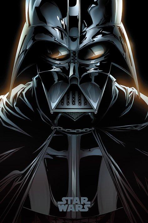 英國 海報 PP34434 (星際大戰 Star Wars (Vader Comic))