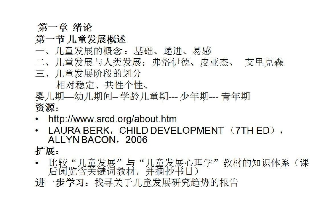 【9420-5060】學前心理學基礎(兒童發展概論) 教學影片(MP4檔案格式) - ( 25堂課 ) 320元 !