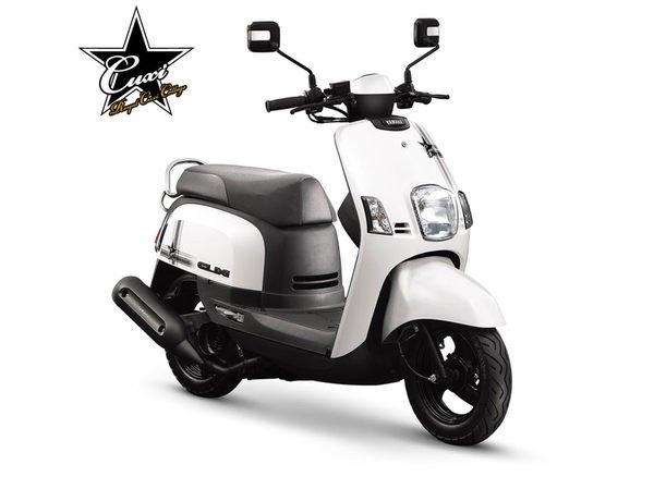 【車輪屋】YAMAHA 山葉 車殼專賣 2009 CUXI-FI 貴族風-星星 全車殼6件  3600 可單買