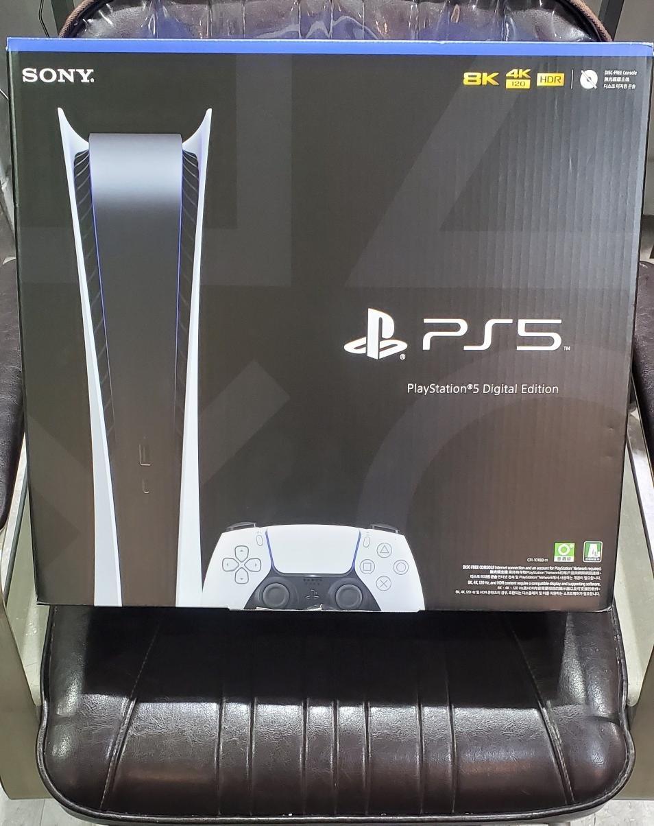 現貨 Sony PS5 Playstation 5 數位版 825G Hdmi2.1 120Hz 8K 單機 空機 免綁 X90J Q70T 白色 單一尺寸