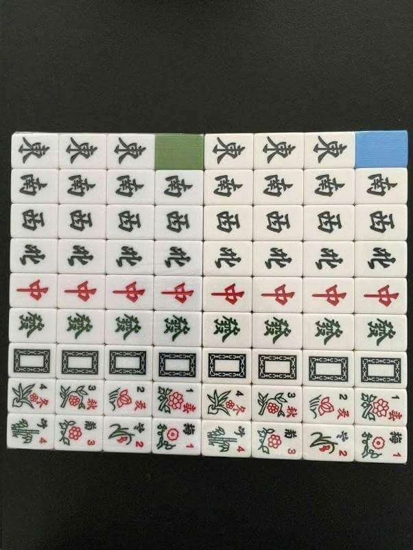 和新電動麻將桌~四口機~ 麻將牌36#~磁性麻將 銷售  繁體版本 ,刻字深好摸, 大小,