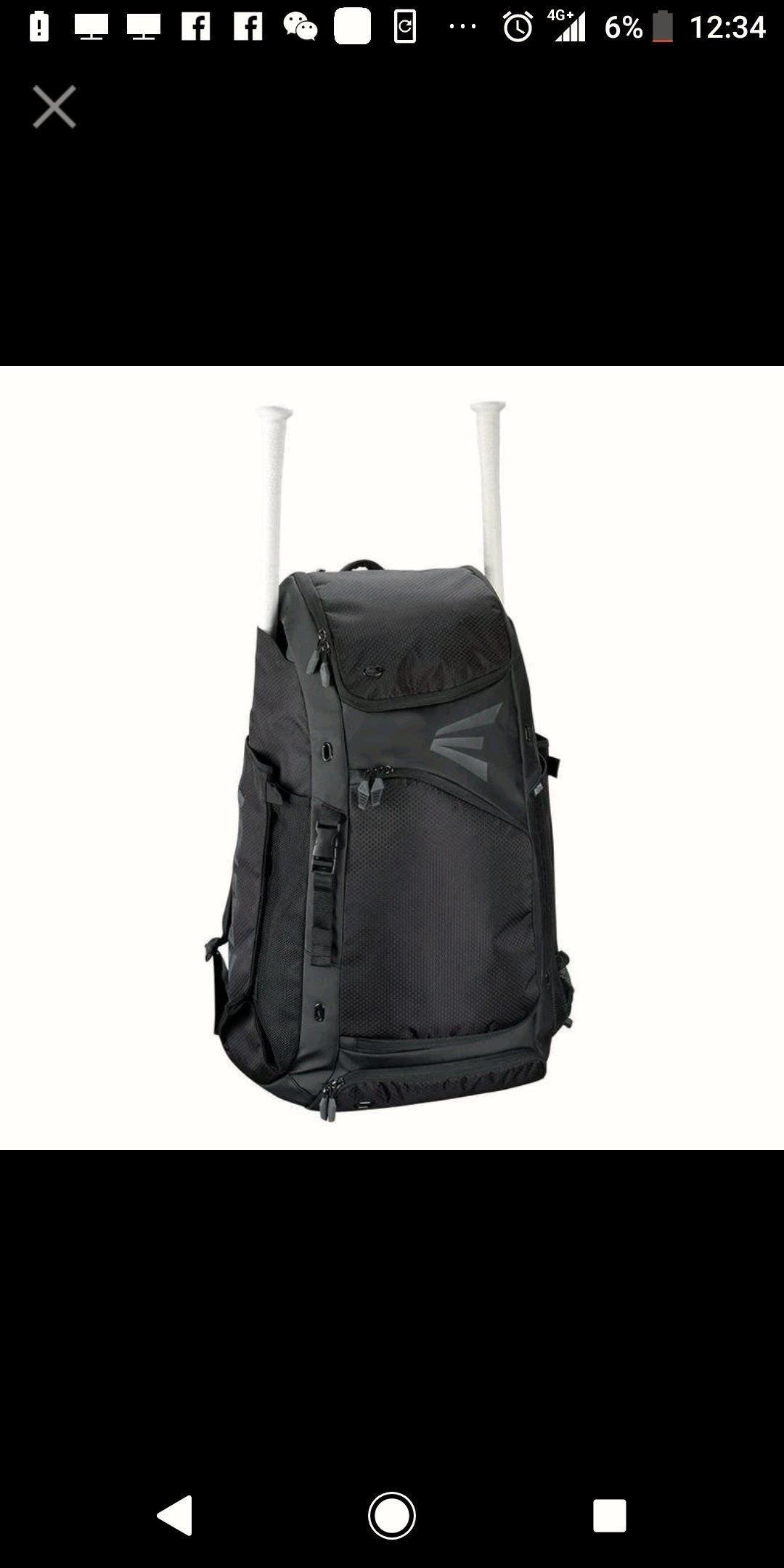 Easton catcher backpack 捕手護具 後背包 近全新