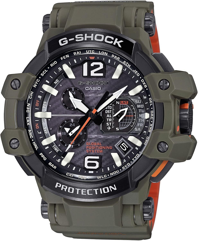 日本正版 CASIO 卡西歐 G-Shock GPW-1000KH-3AJF 手錶 男錶 電波錶 太陽能充電 日本代購