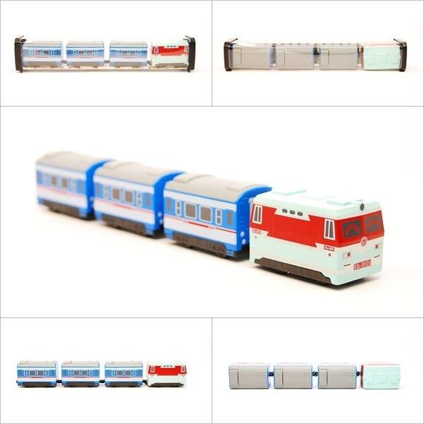 【喵喵模型坊】TOUCH RAIL 鐵支路 Q版 韶山3型電力機車小列車 (QV031T1)