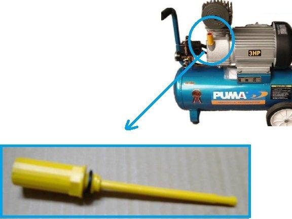 巨霸PUMA 直接式空壓機 機油尺