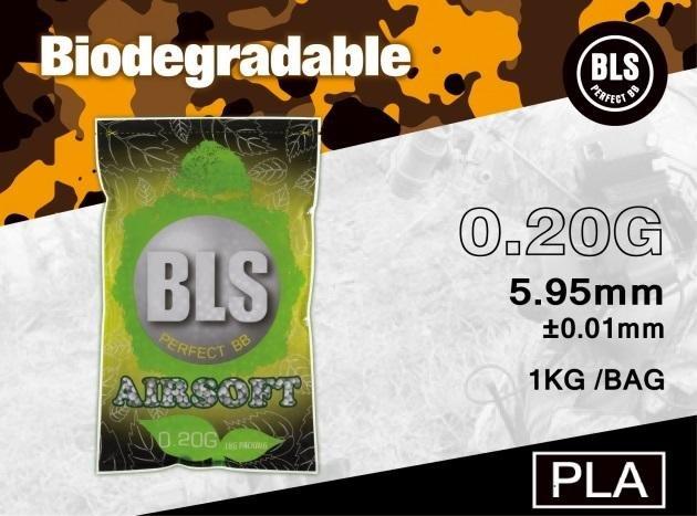 (武莊)BLS 0.20g 白 精密環保彈 1KG-BZ1401