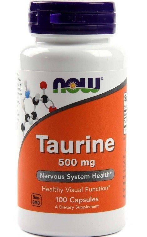 【貓再來小舖】貓用  now 牛磺酸 Taurine 500mg 100顆, 自製貓食添加 最新現貨!