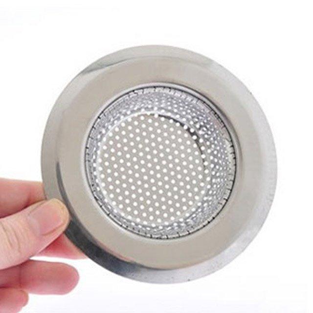 廚房用品外徑11.3CM內徑7.3CM深度2.5CM密合式不鏽鋼流理台水槽濾網HD1016