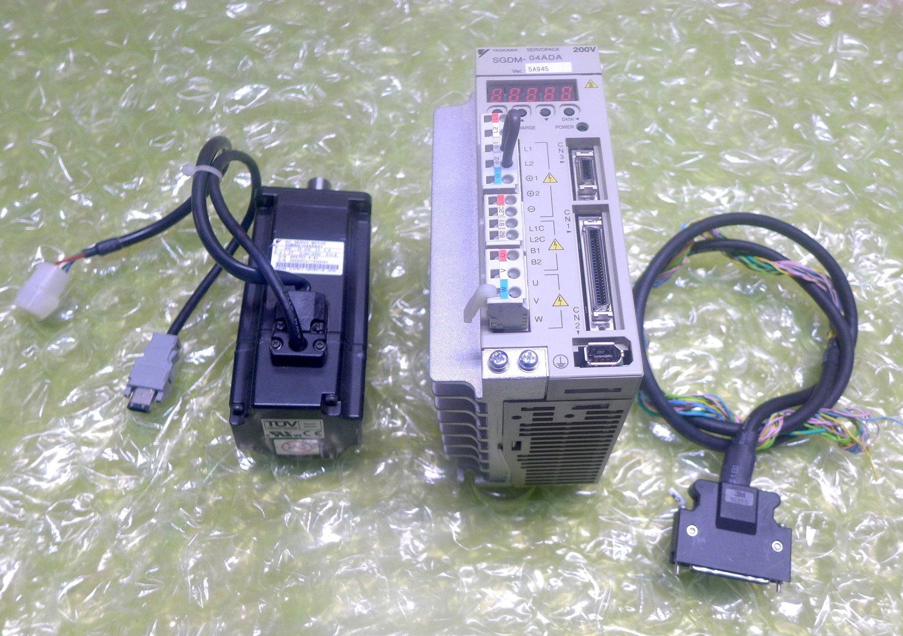 安川YASKAWA SGDM-04ADA SGMJV-04AAA61 SGMAH-04AAA41 PLC 伺服驅動器