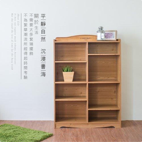 《HOPMA》英格蘭八格收納櫃/書櫃G-S128