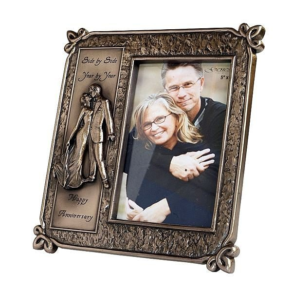 【芮洛蔓 La Romance】Genesis 冷鑄銅5x7相框 - 相伴一生 / 新婚 / 情人節 / 結婚紀念日