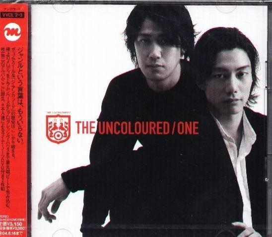 (日版全新未拆) The Uncoloured - ONE  - CD+DVD