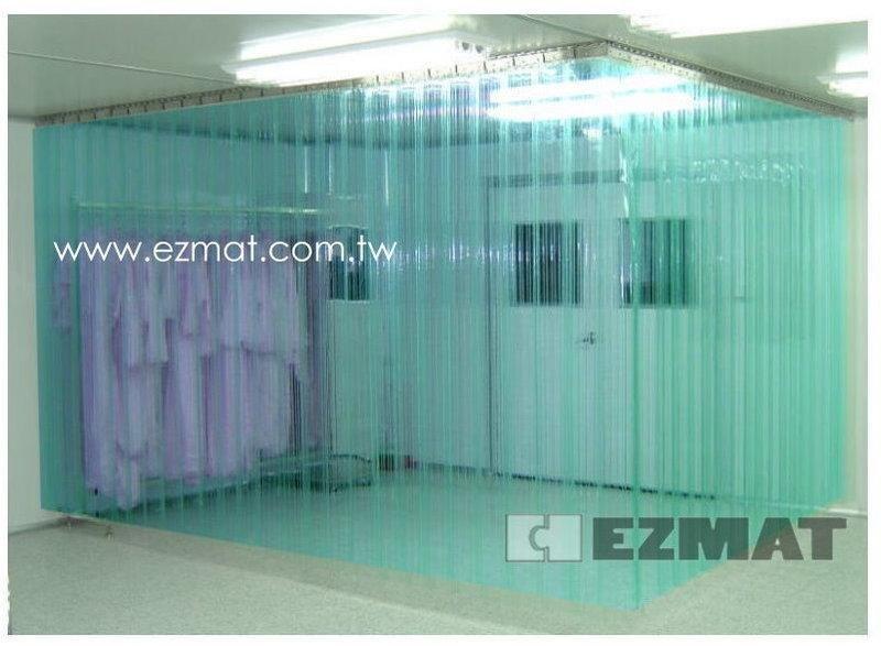 大興塑膠行 PC-PVC 塑膠門簾 台灣製 工廠直營 驅蚊防蟲門簾 加大尺寸 尺寸訂製 條狀 進出方便 冷氣門簾
