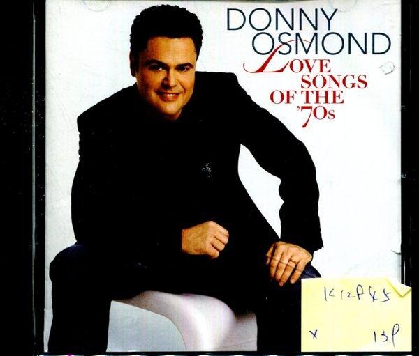 *真音樂* DONNY OSMOND / LOVE SONGS OF THE 70S 二手 K12845 (封面底破)