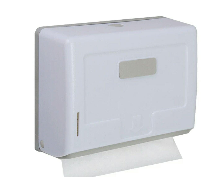 YAHENG衛生間塑膠擦手紙巾盒壁掛式酒店抽紙盒廚房紙巾架擦手紙盒 免打洞(白色) 358元