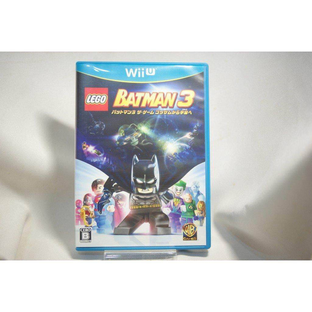 [耀西]二手 純日版 任天堂 Wii U WiiU 樂高蝙蝠俠 3:飛越高譚市 含稅附發票