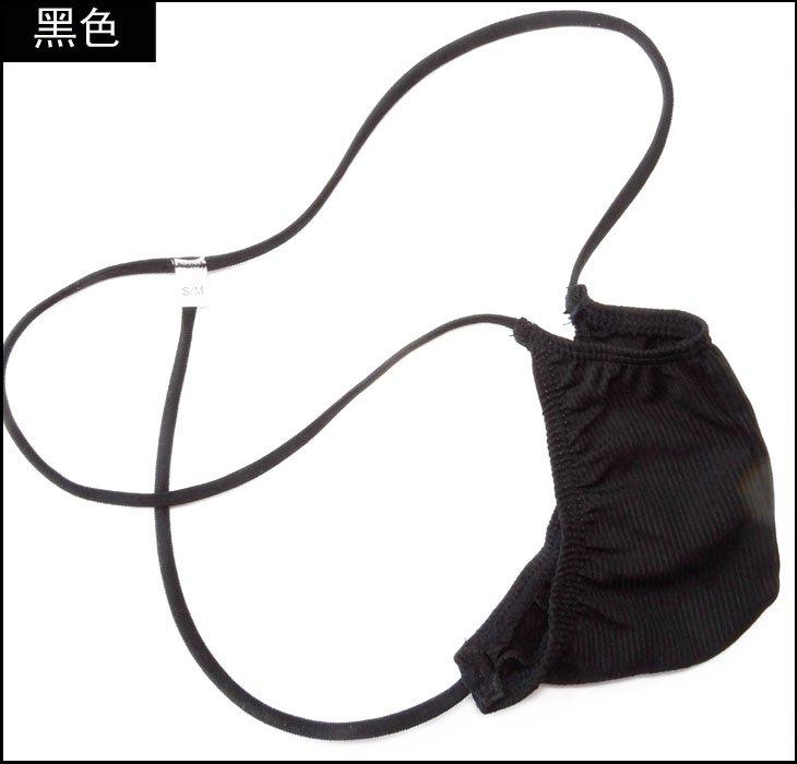 【千鳥島 內褲工廠店】潮男內褲 日式迷你男士激凸囊袋丁字褲 彈力單條羅紋針織布 貨號:G505K