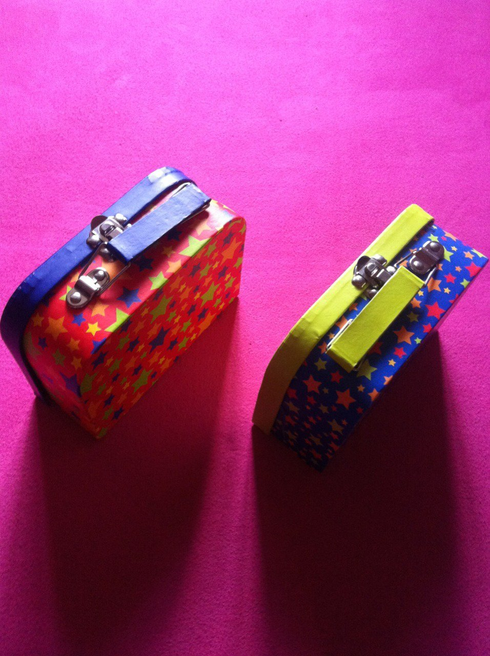 [Family 館]新潮雙色珠寶文具 收納手提盒 2色