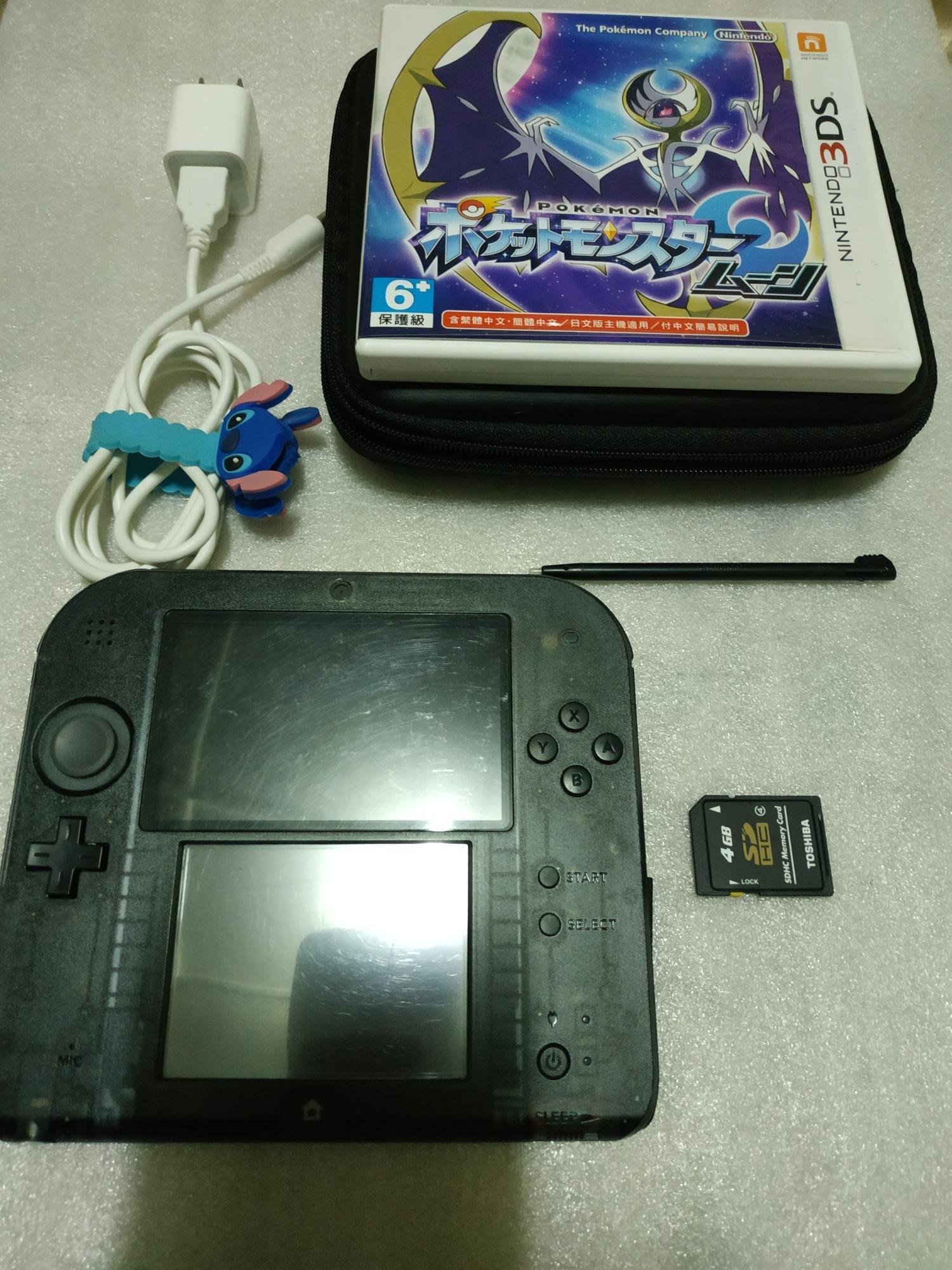 缺貨中~請先詢問庫存量~~ 2DS 日規主機 黑色 對應 NDS 3DS 日規遊戲