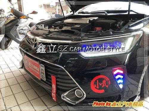 ※ 鑫立汽車精品 ※ CAMRY7.5 15-17年 八眼 LED 光條 款  全LED總成大燈 呼吸 跑馬 流水 大燈