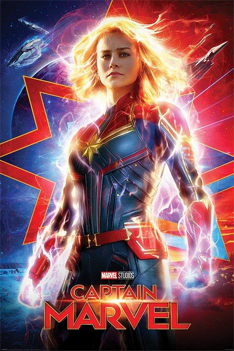 海報 英國 海報 PP34463( 漫威 Marvel 驚奇隊長 Captain Marvel )