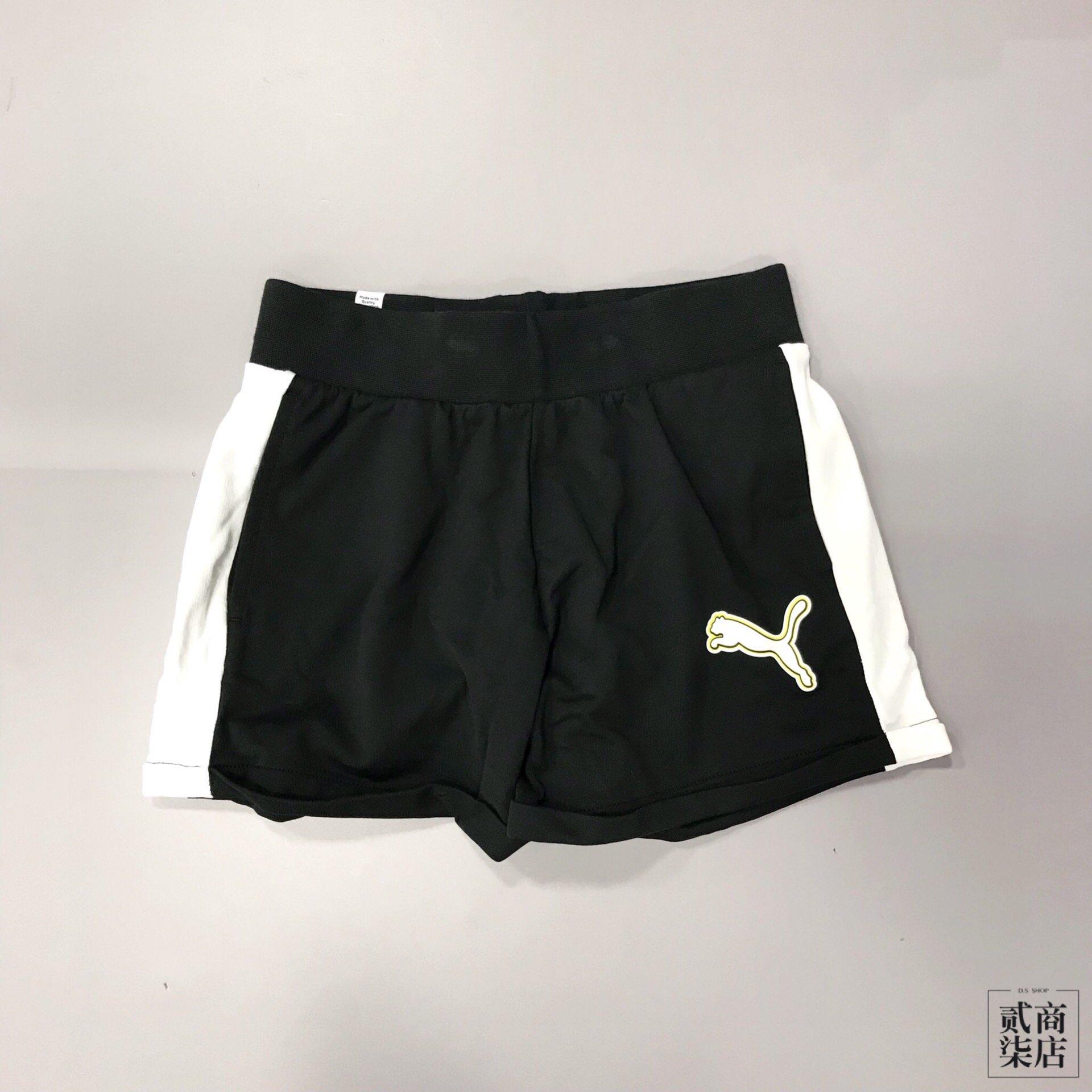 (貳柒商店) Puma Rebel Reload 4  Shorts 女款 黑白 四吋 短褲 棉質 57953701