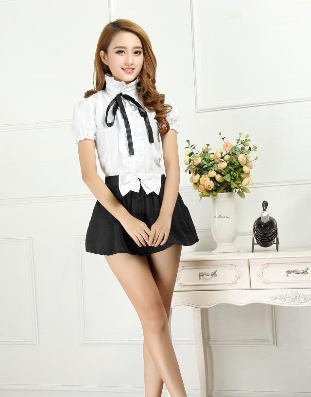 OL Teacher Flight Attendant Secretary Stewardess Costumes