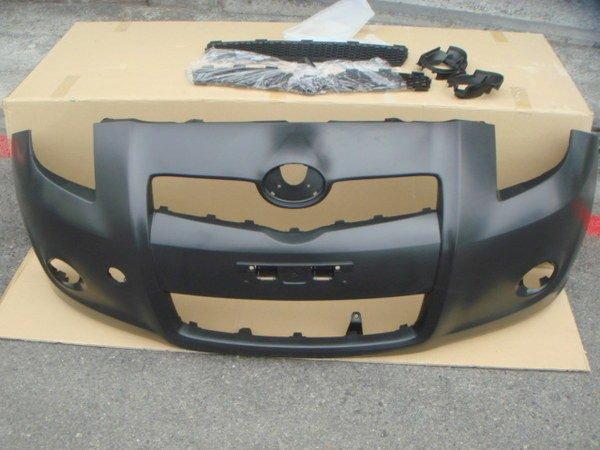 小亞車燈╠ 全新TOYOTA 日規 RS YARIS 前保桿 含塑膠網.配件.霧燈架 另售後保桿